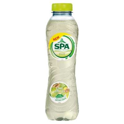 Spa Duo Lime Ginger Koolzuurvrij 50 cl