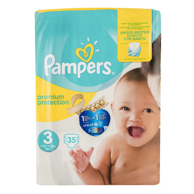 Pampers Premium protection midi 3 (5-9 kg)