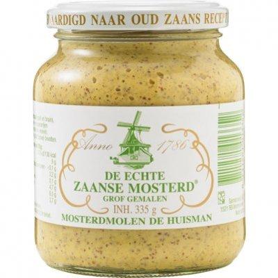 Huisman Zaanse mosterd grof gemalen