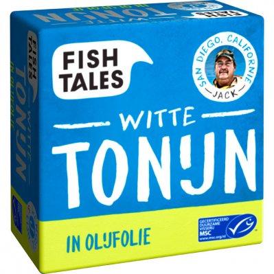 Fish Tales Albacore tonijn in olijfolie MSC