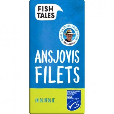Fish Tales Ansjovis filets in olijfolie MSC