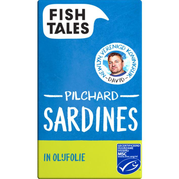 Fish Tales Skipjack sardines in olijfolie