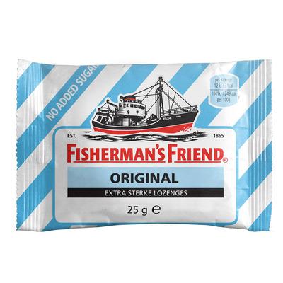 Fisherman's Friend Original strong suikervrij