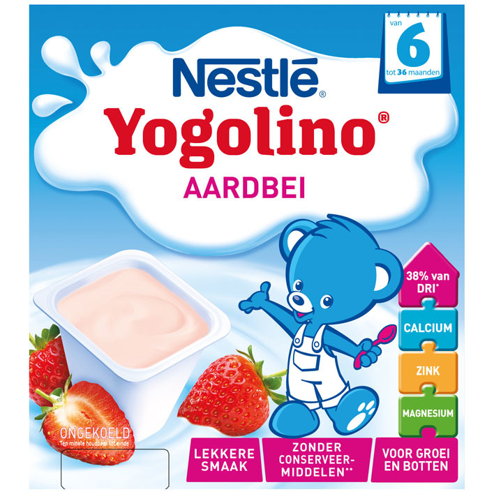 Nestlé Yogolino aardbei