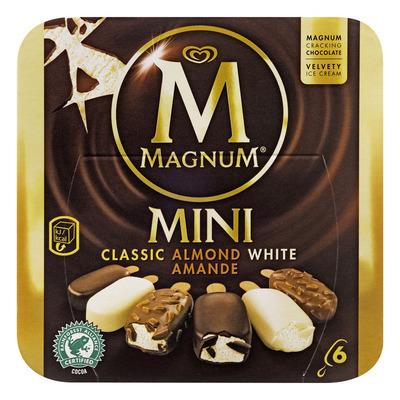 Magnum Classic almond white ijs