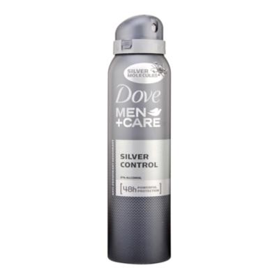 Dove For Men Deospray silver control