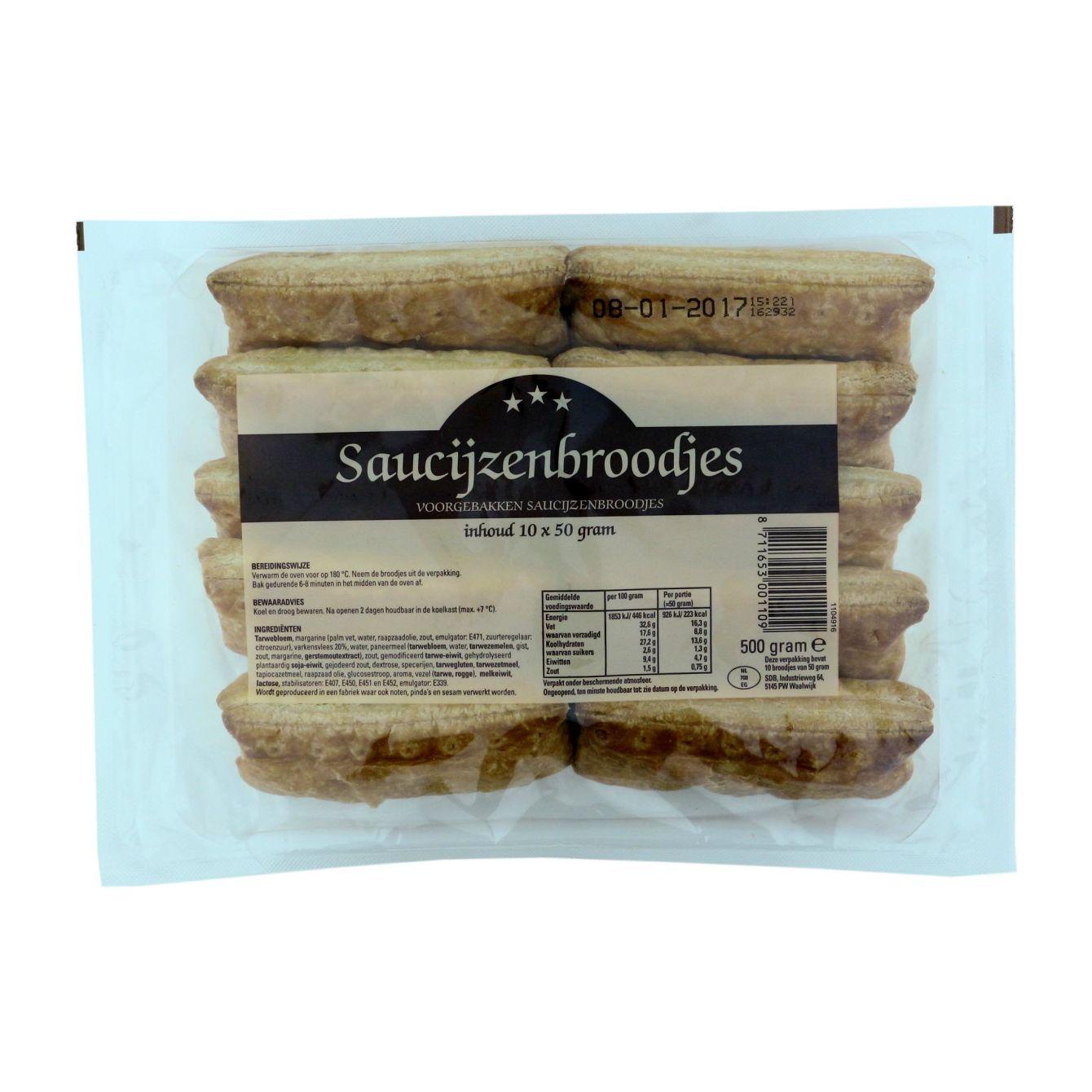 Saucijzenbroodjes