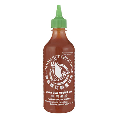 Flying Goose Sriracha hot chillisauce