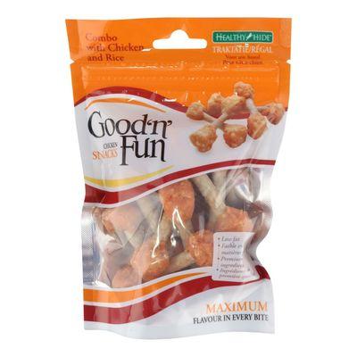 Healthy Hide Good 'n Fun Kip & Rijst Snacks