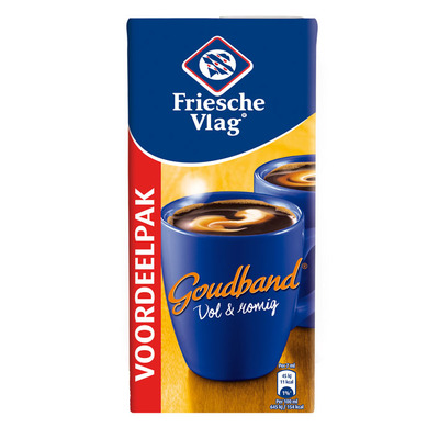 Friesche Vlag Goudband koffiemelk