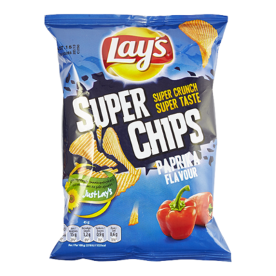 Lays Superchips paprika flavour