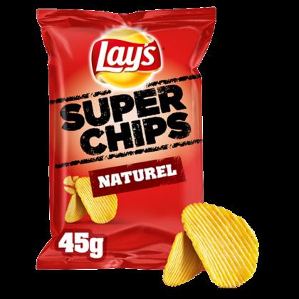 Lays Superchips Naturel chips