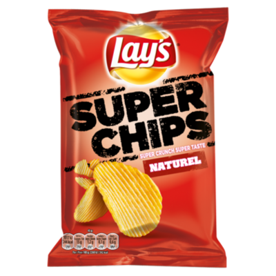 Lays Superchips Naturel chips