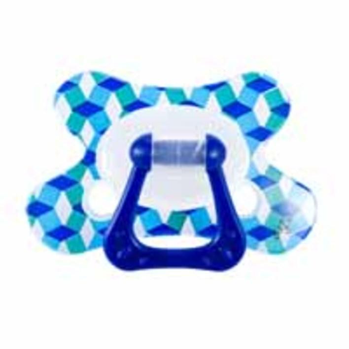 Difrax Fopspeen combi met ring 6+(div kleuren)