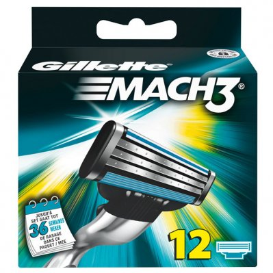 Gillette Mach3 + scheermesjes