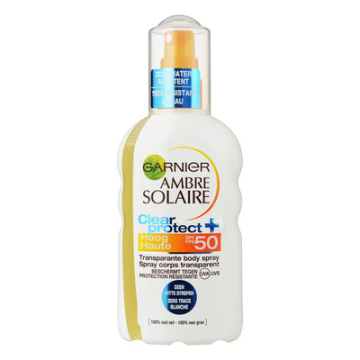 Ambre Solaire Clear protect spray spf 50+