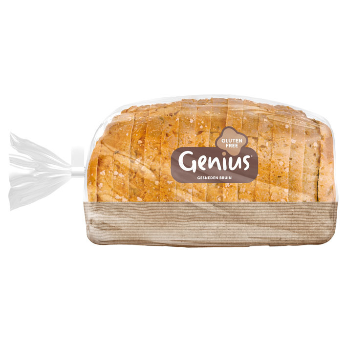 Genius Bruinbrood glutenvrij