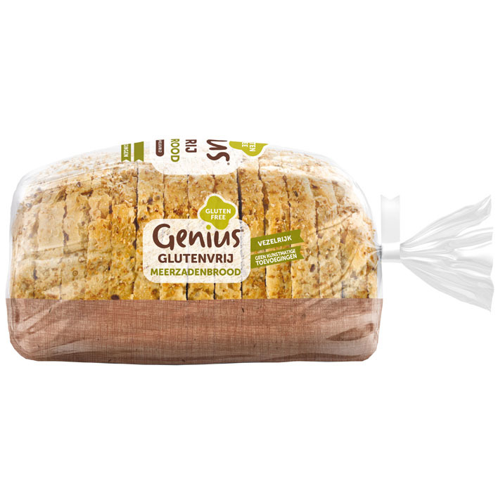 Genius Meerzaden brood glutenvrij