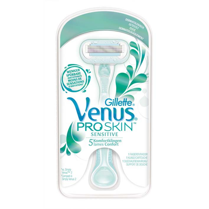 Gillette Venus embrace sensitive scheersysteem