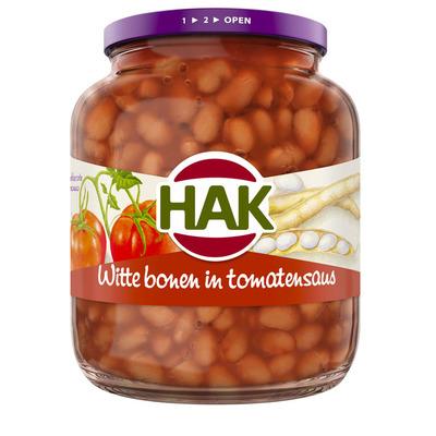 Hak Witte bonen in tomatensaus