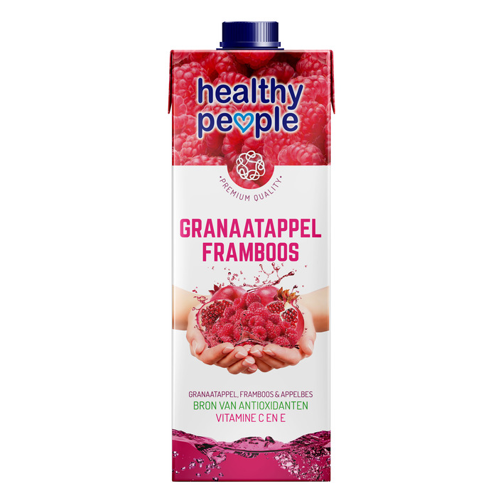 Healthy People Granaatappel- framboos