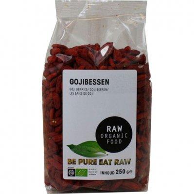 Raw Organic Food Gojibessen biologisch
