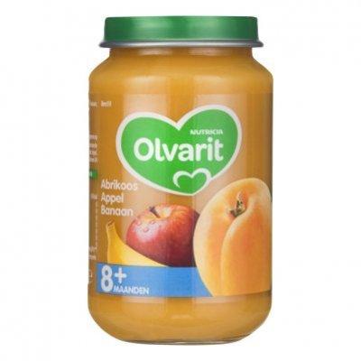 Olvarit Abrikoos appel banaan 8+ mnd