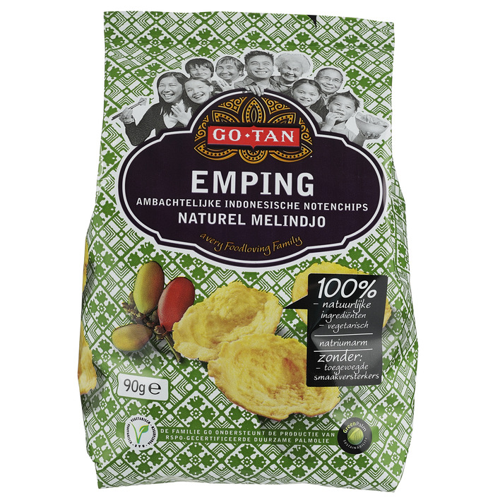 Go-Tan Emping naturel melindjo