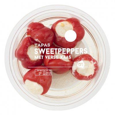Huismerk Sweetpeppers met verse kaas