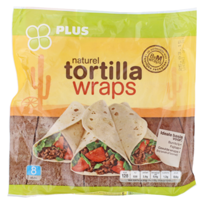 PLUS Wrap tortilla