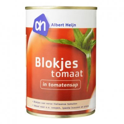 Budget Huismerk Blokjes tomaat in tomatensap