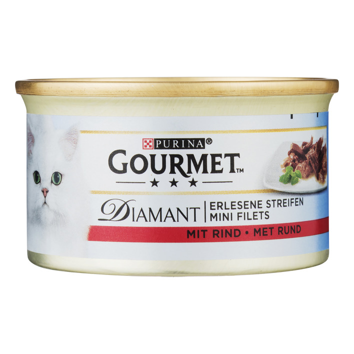 Gourmet Diamant mini filets met rund