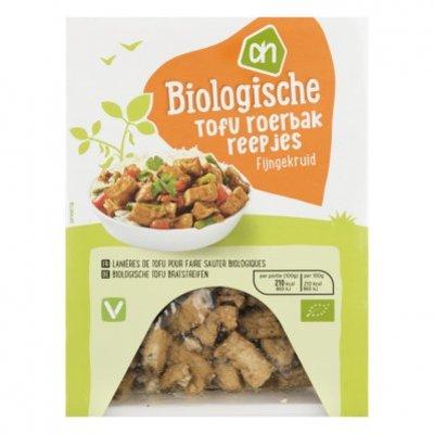 Huismerk Biologisch Tofu roerbakreepjes fijn gekruid