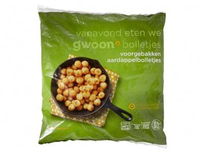 Huismerk Aardappelbolletjes