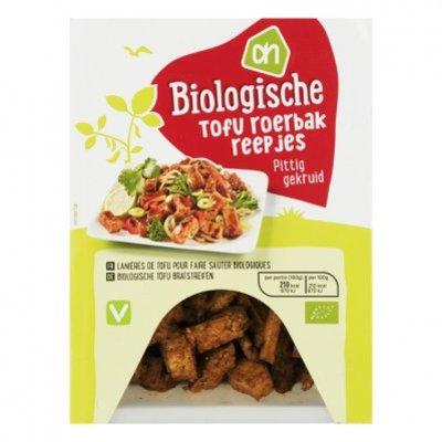 AH Biologisch Tofu roerbakreepjes pittig gekruid