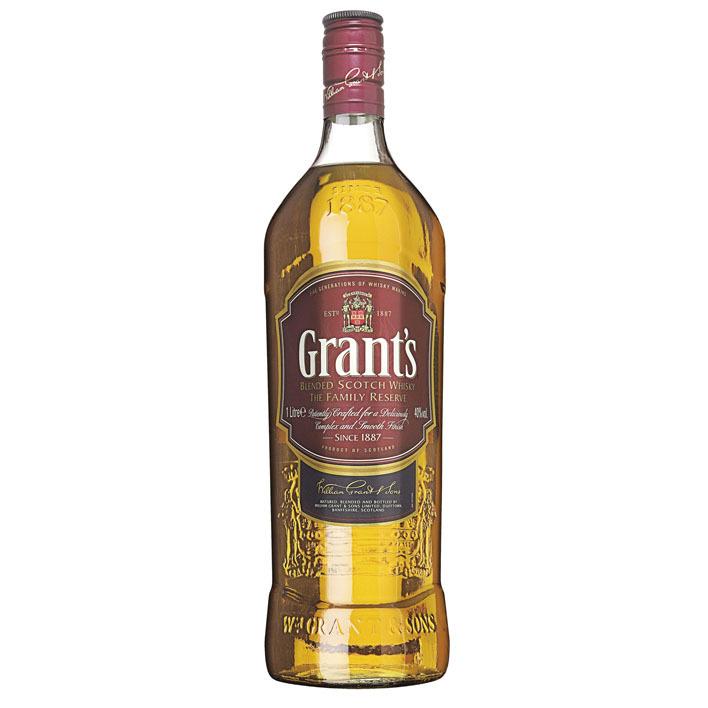 Grant's Blended Scotch Whisky family reserve