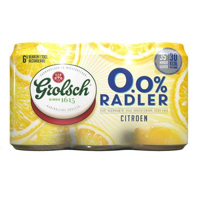 Grolsch 0.0% Radler citroen