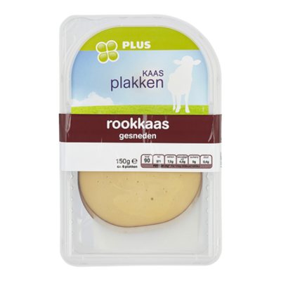 Huismerk Rookkaas 45+ plakken