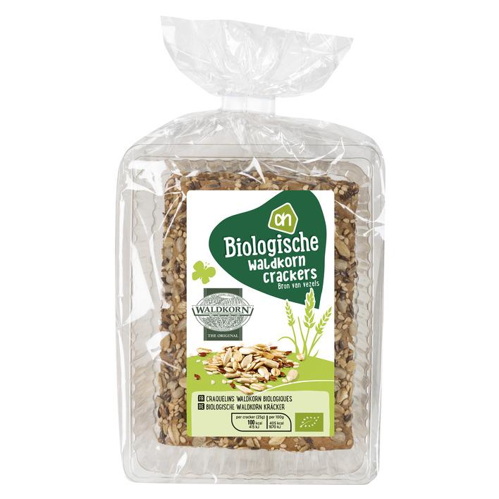 Huismerk Biologisch Waldkorn crackers