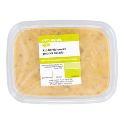 Huismerk Kip-kerrie sweet pepper salade