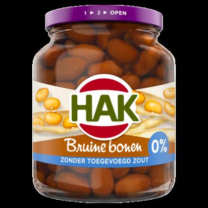 Hak Bruine bonen 0% toegevoegd zout