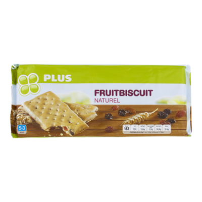 Huismerk Fruitbiscuit naturel