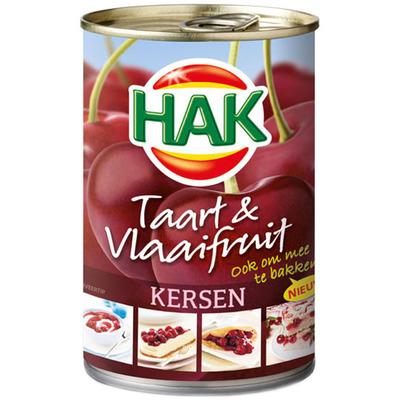 Hak Taart & vlaaifruit kersen
