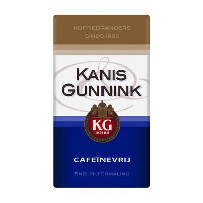 Kanis & Gunnink Decaf cafeïnevrije filterkoffie
