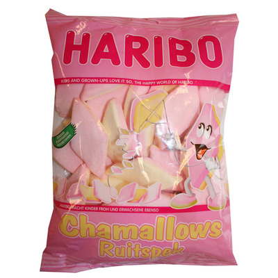 Haribo Chamallows ruitspek