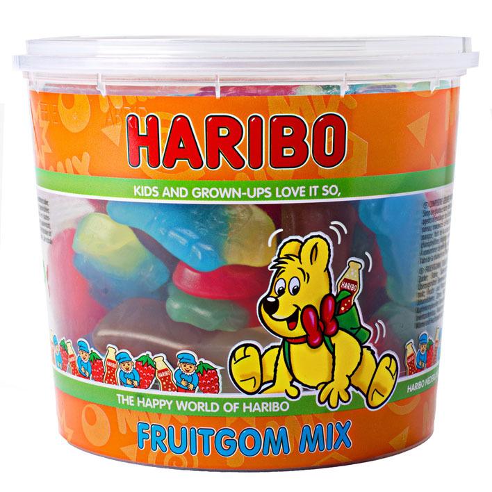 Haribo Fruitgom mix silo