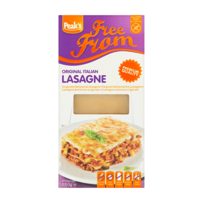 Peak's Free From Originele Italiaanse Lasagne