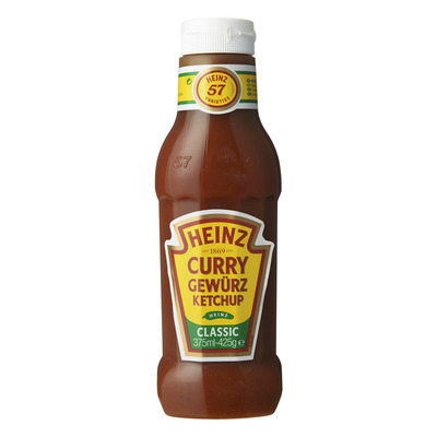 Heinz Curry gewürz ketchup