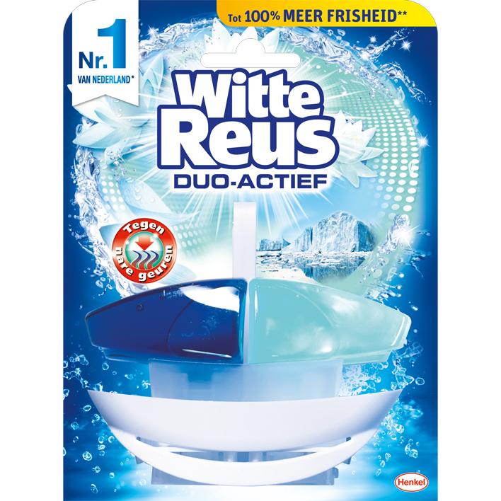 Witte Reus Duo-actief tegen nare geuren toiletblok