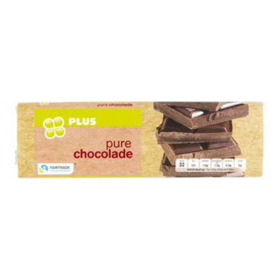 Huismerk Chocoladereep Puur Fairtrade